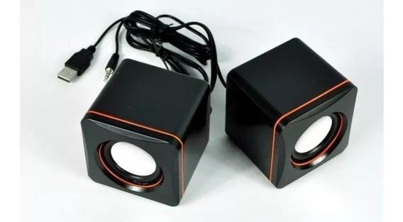 Mini Caixa De Som Multimedia Speaker System Usb