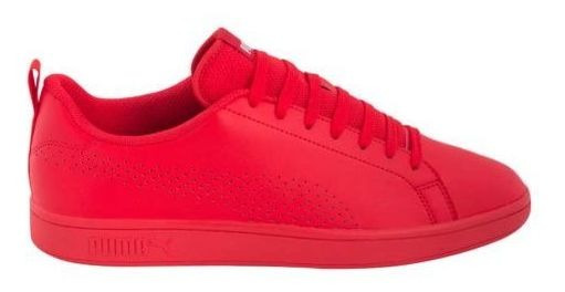 Tenis Casual Puma Smash Ace 5304 Rojo