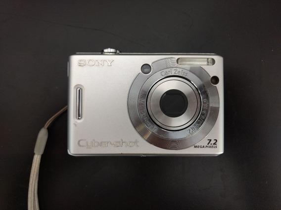Câmera Sony Cybershot Dsc-w35 7.2mp. - Raridade