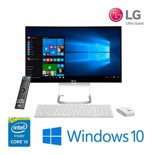 Aio LG 24v550 23.8  Ci5/4gb/1tb/w10  - Envio Gratis