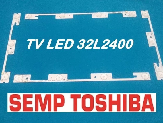 Kit Barras Led Tv Semp Toshiba 32l2400 Dl3244 Dl3245 Novo!!