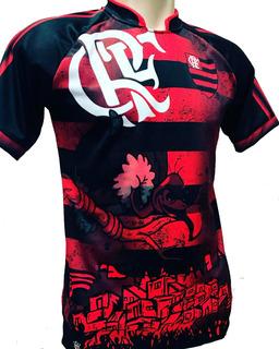 Camisa / Camiseta Mengão Rubro Negro (ref. Flamengo) Jotaz