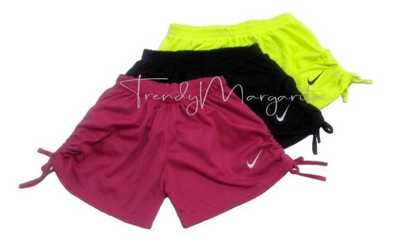 Shorts De Dama Lateral Ajustable (3 Shorts Por Sólo)