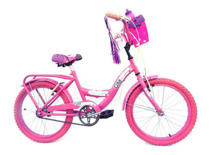 Bicicleta Rodado 20 Gm 19333 Dama Paseo Playera Gm Store