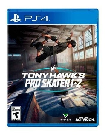 Juego Playstation Ps4 Tony Hawk - Latam Juego Playst Tk755