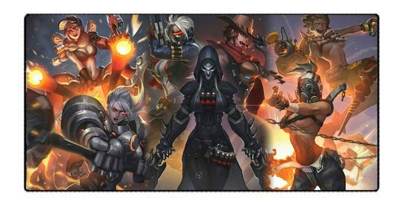 Mousepad Mouse Pad Gamer Grande 700x350x3mm Personagens