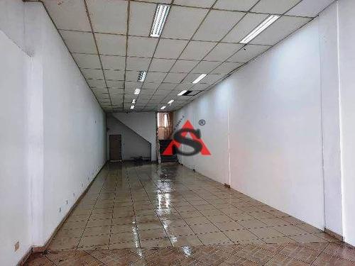Imagem 1 de 4 de Salão Para Alugar, 210 M² Por R$ 7.000,00/mês - Bosque Da Saúde - São Paulo/sp - Sl0124