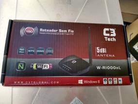 Roteador Wireless C3 Tech W-r1000nl Com Defeito 10 Pcs