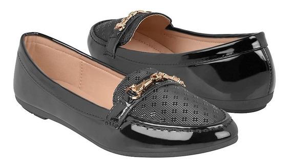 Zapatos Casuales Para Dama Furor 15760 Negro