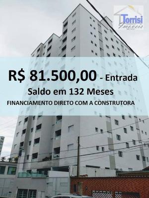 Apartamento Em Praia Grande, 02 Dormitórios Sendo 01 Suite, Lazer Completo Na Aviação Ap0694 - Ap0694