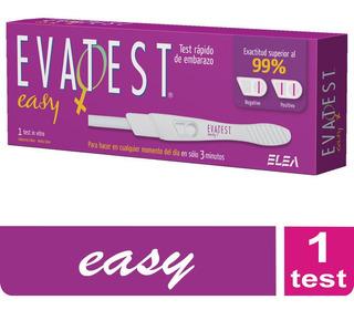Evatest Easy - Test Facil Y Rápido De Embarazo