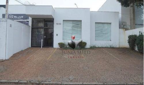 Casa Com 1 Dormitório Para Alugar, 179 M² Por R$ 4.500,00/mês - Jardim Sumaré - Ribeirão Preto/sp - Ca0508