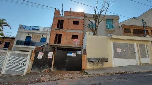 Apartamento À Venda, 3 Quartos, 1 Suíte, 1 Vaga, Santo Antônio - Santo André/sp - 98201