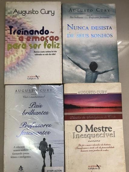 Box Auguso Cury, 4 Livros Novos E Usados