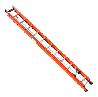 Escada De Fibra Sc, 16 Degraus, Extensível, Efe-10
