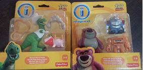 Set C/ 2 Imaginext Toy Story Rex + Lotso