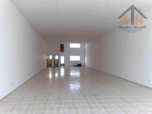Salão Para Alugar, 265 M² Por R$ 7.200/mês - Vila Augusta - Guarulhos/sp - Sl0013