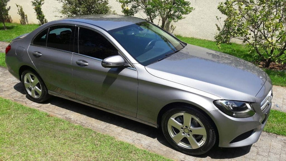 Mercedes Benz C180 1.6 Turbo 2016 Prata