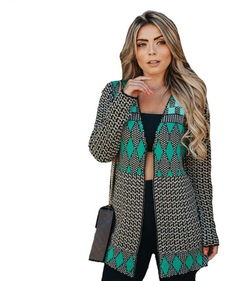Kit 5 Blusas De Frio Feminina Casaco Cardigan Atacado Barato