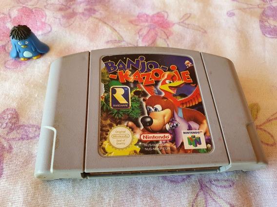 Nintendo 64 Banjo Kazooie Original Europeu