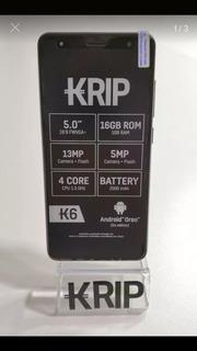 Teléfono Celular Krip K6. 16gb Rom. 1gb Ram. Camara 13mp