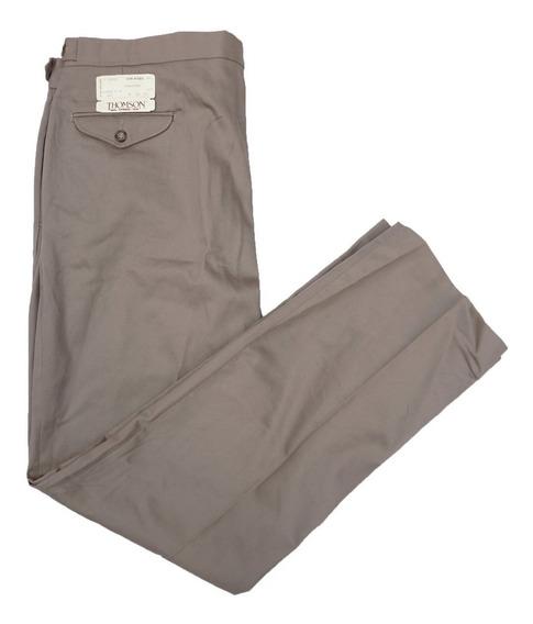 Pantalon Casual Gabardina 38 X 34 Grueso Clasico
