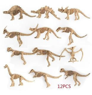 Brinquedo Esqueleto Fóssil De Dinossauro Modelo De Simulação