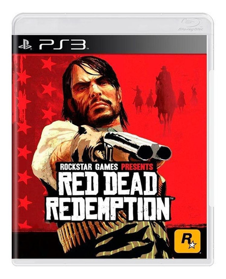 Red Dead Redemption Ps3 Mídia Física Pronta Entrega