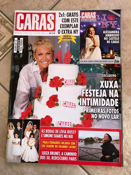 Revista Caras 941 Xuxa Luiza Brunet Simone Soares 2011 D457
