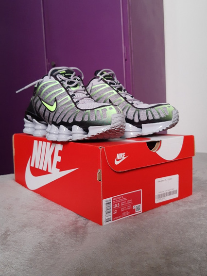 Zapatillas Nike Shox Tl Lime Blast