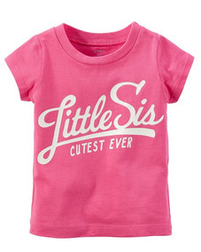 Camiseta Carters Little Sis