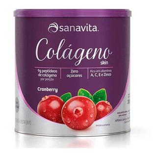 Colageno Skin Lata (300g) Cranberry Sanavita