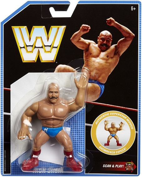 Wwe Retro Iron Sheik Figura Interactiva Scan And Play