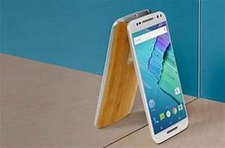 Celular Moto X Stylus Edi Bambu Madera Blanco 32gb Nuevo