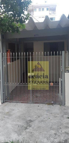 Casa Com 1 Dormitório Para Alugar, 60 M² Por R$ 950,00/mês - Chácara Inglesa - São Paulo/sp - Ca0521