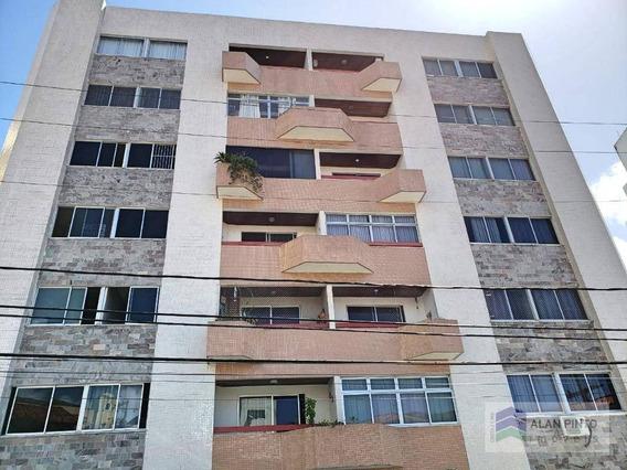 Apartamento Com 2 Dormitórios Para Alugar, 89 M² Por R$ 900,00/mês - Brotas - Salvador/ba - Ap0356