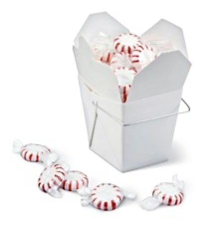 100 Cajas Blancas Para Comida China 26oz Envío Gratis