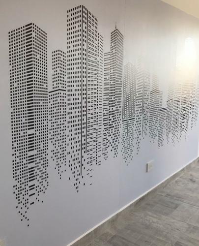Ploteo De Vidrieras Y Paredes - Vinilo Impreso Microperforad