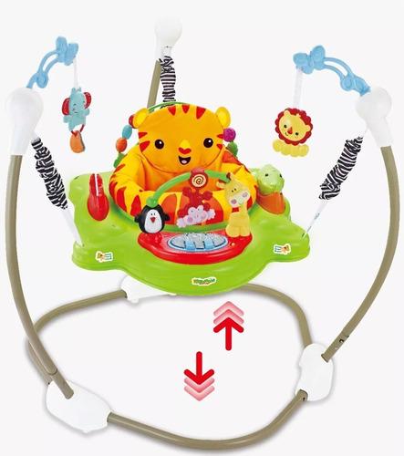 Imagen 1 de 10 de Jumper Rebotador Movil Juguetes Sonidos  Bebés Gira 360º