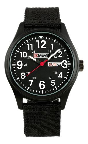 Militar Reloj Deportivo Fecha Día Cuarzo Ejército Analógico