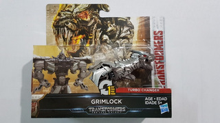 Transformers Grimlock Turbo Changer 1 Paso Hasbro