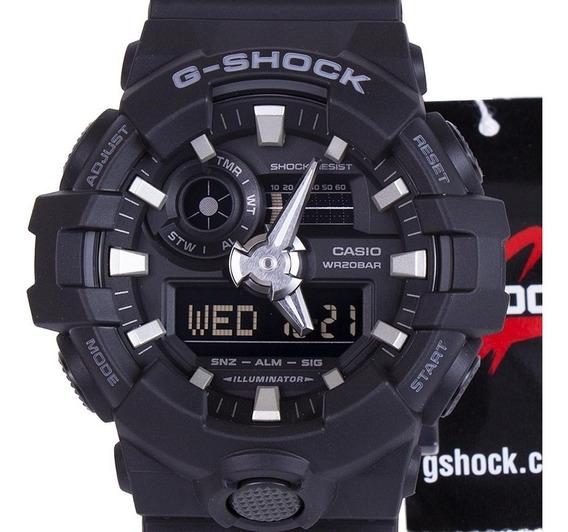 Relógio G-shock Ga-700-7adr Casio Preto 100% Original