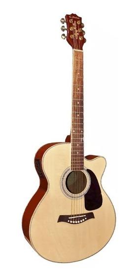 Guitarra Electroacustica Shelter Lf4000 Eq Apx