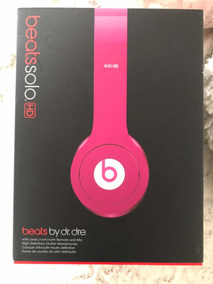 Beats Solo Hd Glossy Pink Headphone By Dr. Dre