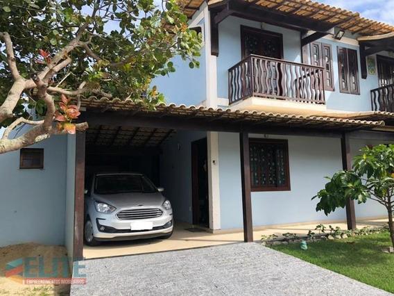 Casa Em Condomínio Para Venda Em Saquarema, Itaúna, 2 Dormitórios, 2 Banheiros, 1 Vaga - E140