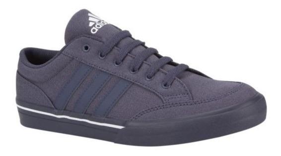 Tenis adidas Niños Azul Oscuro Gvp Canvas Str Af5950