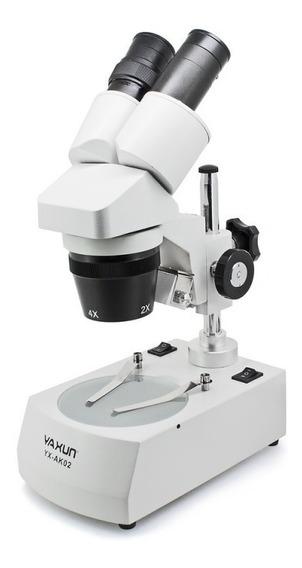 Microscópio 40x Yaxun Ak02 110v