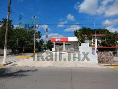 Venta Local Comercial Frente Río Tuxpan Veracruz. Ubicado En Esquina Sobre Boulevard Maples Arce # 206, Colonia Ruiz Cortines, En La Ciudad De Tuxpan Veracruz, El Local Comercial Tiene Acceso De Ra