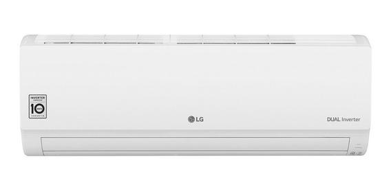 Ar condicionado LG Dual Inverter Voice split frio 9000BTU/h branco 220V S4-Q09WA51A