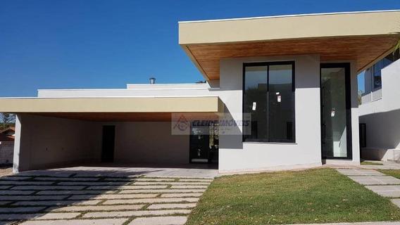 Linda Casa Térrea No Condomínio Belvedere - Ca1154